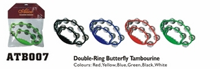 Double-Ring ButterflyTambourine